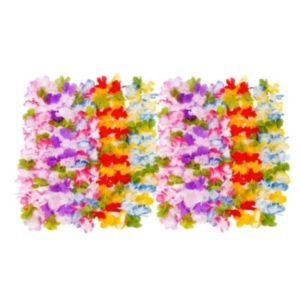 Collier Hawaï multicolores