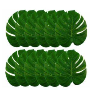 Grandes Feuilles Tropicales pour décoration