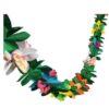 Guirlande fleurs tropicales