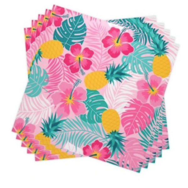 Serviette de table en papier Hawaï